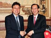 越南胡志明市和韩国庆尚北道推动各项合作协议落地实施