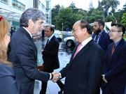 政府总理阮春福探访奥克兰理工大学