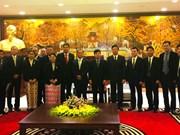 越南与缅甸分享民族工作政策经验
