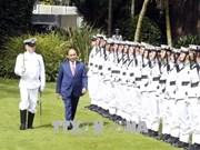 新西兰总理举行仪式 欢迎越南政府总理阮春福到访