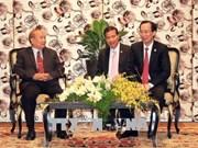 胡志明市重视并不断培育与柬埔寨各地方各部门的关系