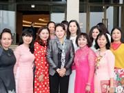 越南国会主席阮氏金银会见越南中小企业协会代表