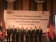 为大湄公河次区域国家边境贸易通关和人员往来创造便利