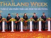 泰国产品周活动在海防市举行