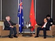 政府总理阮春福会见美国前任驻越大使