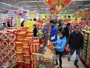 连锁超市的国产货上架率达90%以上