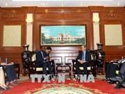 胡志明市希望加强与法语国家国际组织的合作