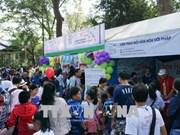 在胡志明市举行的法语日活动吸引5000余名学生参加