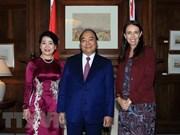 越南政府总理阮春福圆满结束对新西兰和澳大利亚进行的正式访问