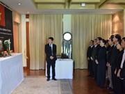 越南驻泰国和印尼大使馆为原政府总理潘文凯举行吊唁仪式