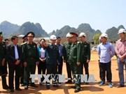 切实为2018年第五届越中边境国防友好交流活动做好准备