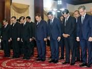多支国内外代表团前来吊唁原政府总理批潘文凯