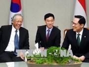 韩国和新加坡同意维持伙伴关系共同解决安全问题