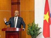 促进越南与阿曼之间的贸易关系