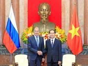 国家主席陈大光会见俄罗斯联邦外交部部长谢尔盖·拉夫罗夫