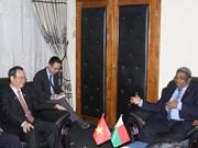 越南国会高级代表团开始对马达加斯加共和国进行访问