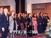 越南国会主席阮氏金银出席越南与荷兰建交45周年纪念活动