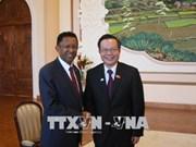 越南与马达加斯加传统合作关系中新的里程碑