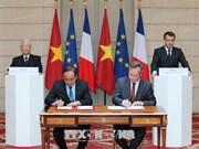 越南与法国发表联合声明  强调加强各领域的合作
