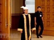 吴温敏当选为缅甸新总统