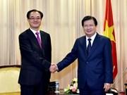 政府副总理郑廷勇会见重庆市副市长刘桂平