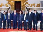 阮春福总理会见印尼海洋统筹部长卢胡特