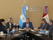 越南与阿根廷促进各地方间的合作