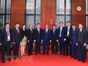阮春福总理会见出席GMS-6的中国各地方领导