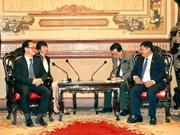 胡志明市与重庆市加强合作
