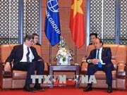 政府总理阮春福会见世界银行首席财务官