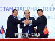 柬老越三国总理主持CLV-10 新闻发布会
