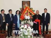 河内市天主教总教区为国家建设与发展事业做出巨大贡献