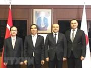 越南计划与投资部和国会法律委员会代表团对土耳其进行工作访问