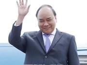 政府总理阮春福抵达柬埔寨暹粒 开始第三届湄公河委员会峰会之行