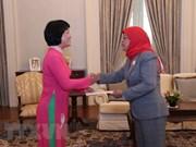 大力推动越新两国多方面合作关系迈上新台阶