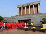 胡志明主席陵墓例行维修时间调整