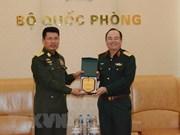 越南人民军副总参谋长范玉明会见缅甸客人