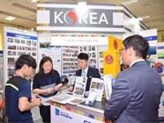2018年越南国际贸易博览会为越韩企业深化合作创造机会