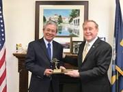 越南驻美国大使造访蒙特雷海军学院
