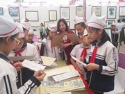 """""""黄沙和长沙归属越南:历史证据和法律依据""""资料图片展亮相和平省"""