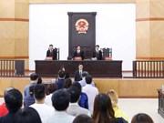 河内市人民法院对周氏秋娥一案进行复审
