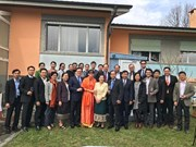 越南驻联合国代表团向老挝致以新年祝福