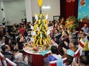 老挝驻越南大使馆在首都河内举行老挝传统新年庆祝活动