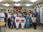 日本企业与越南大学生进行交流