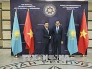 越南公安部部长苏林对哈萨克斯坦进行工作访问