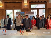 越法两国签署地质公园发展与管理合作备忘录
