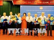 越南民族、民主及和平力量联盟成立50周年纪念典礼在胡志明市举行