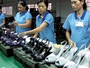 越南鞋类出口额稳居世界第二位