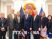 越南驻美国大使会见耶稣基督后期圣徒教会代表团