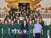 越南政府总理阮春福会见第三军B3西原战线退伍军人代表
